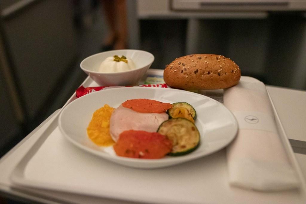Lufthansa Business Class Serive innerdeutsch