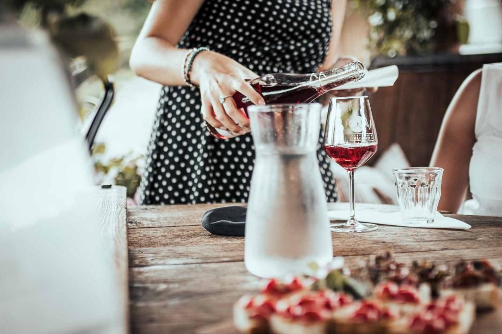 Weinprobe Lucca Toskana