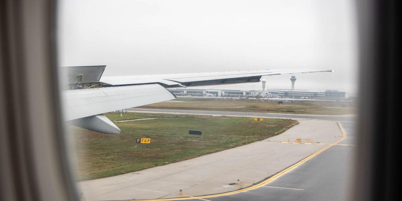Air Canada Ankunft Flughafen Toronto