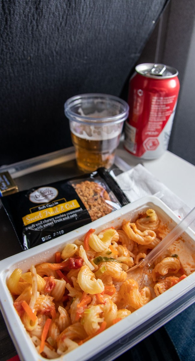 Air Canada Economy Class Essen Mahlzeit-2