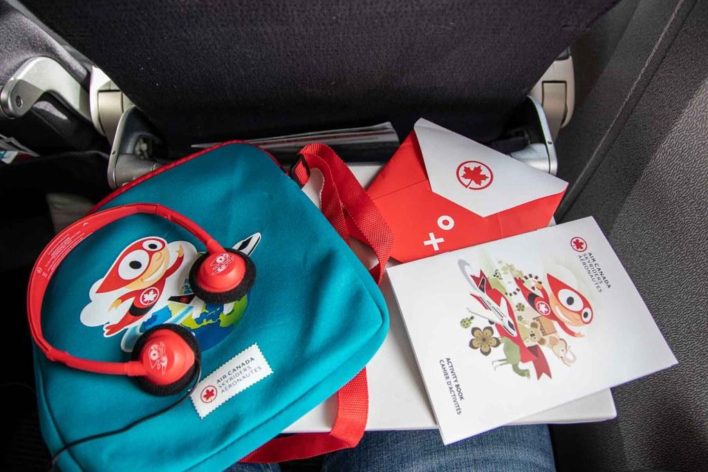 Air Canada Fliegen mit Kindern