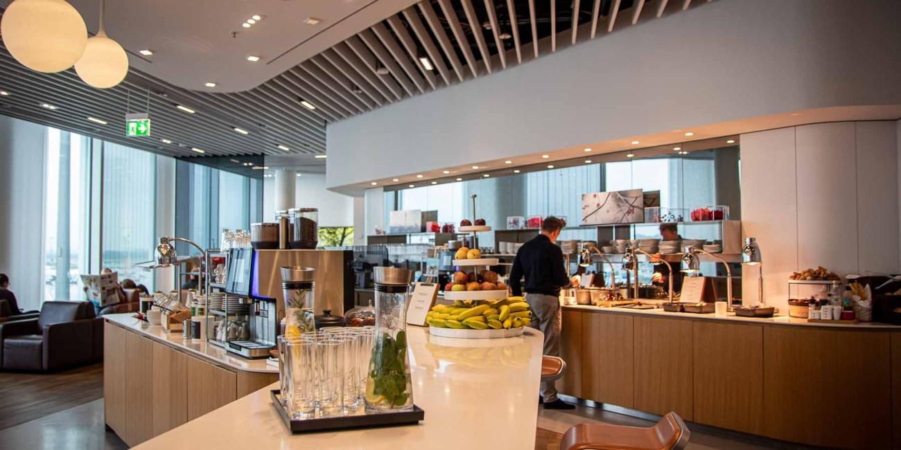 Air Canada Lounge Lufthansa Senator Lounge Flughafen München-2