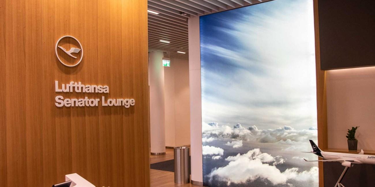 Air Canada Lounge Lufthansa Senator Lounge Flughafen München