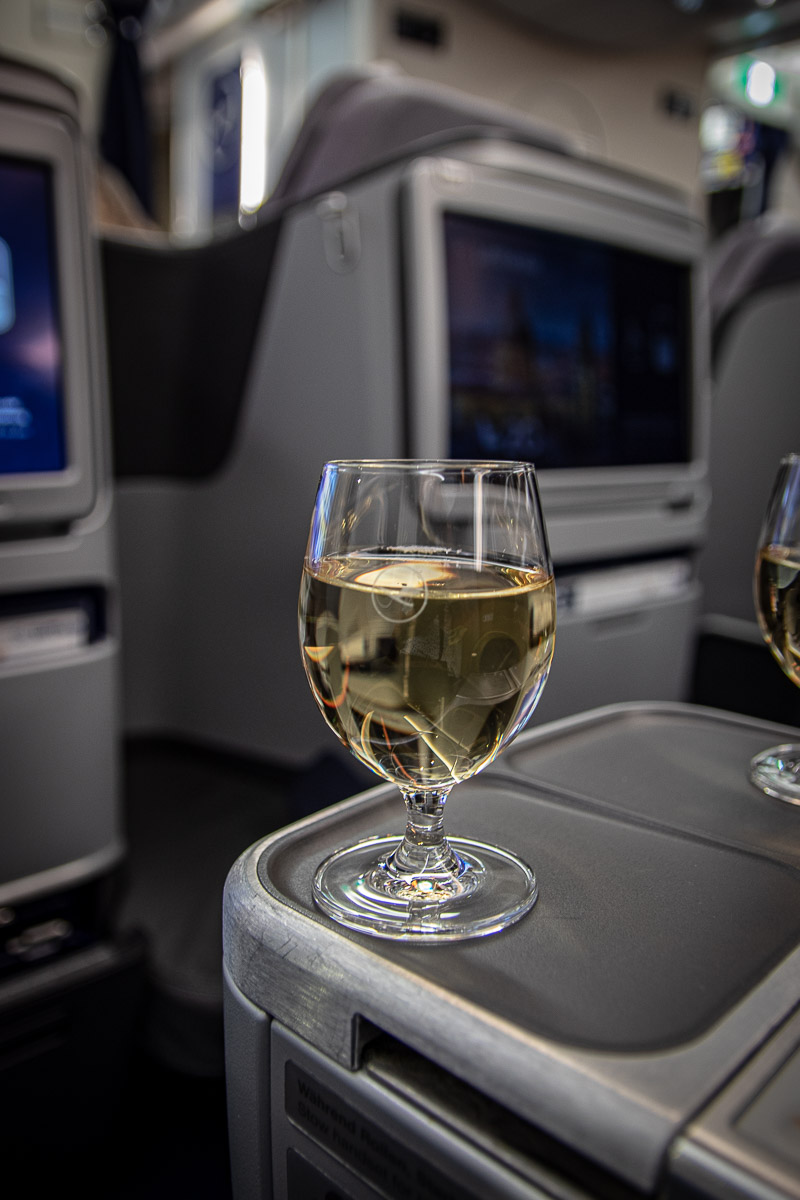 Business Class im Lufthansa Airbus A350-3