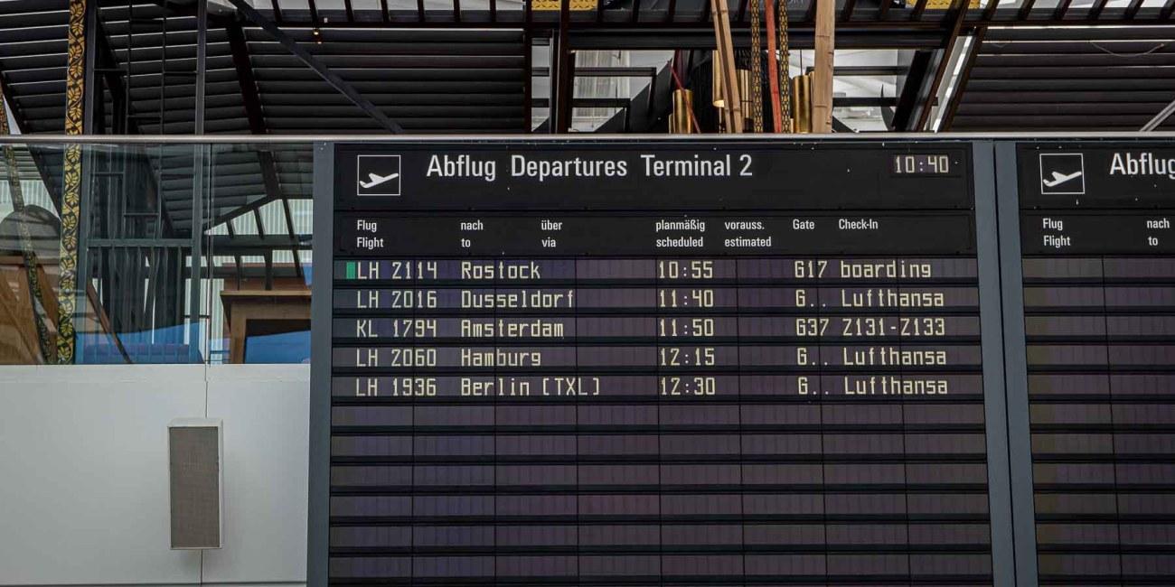 Fliegen während Corona mit Lufthansa Flughafen München-2