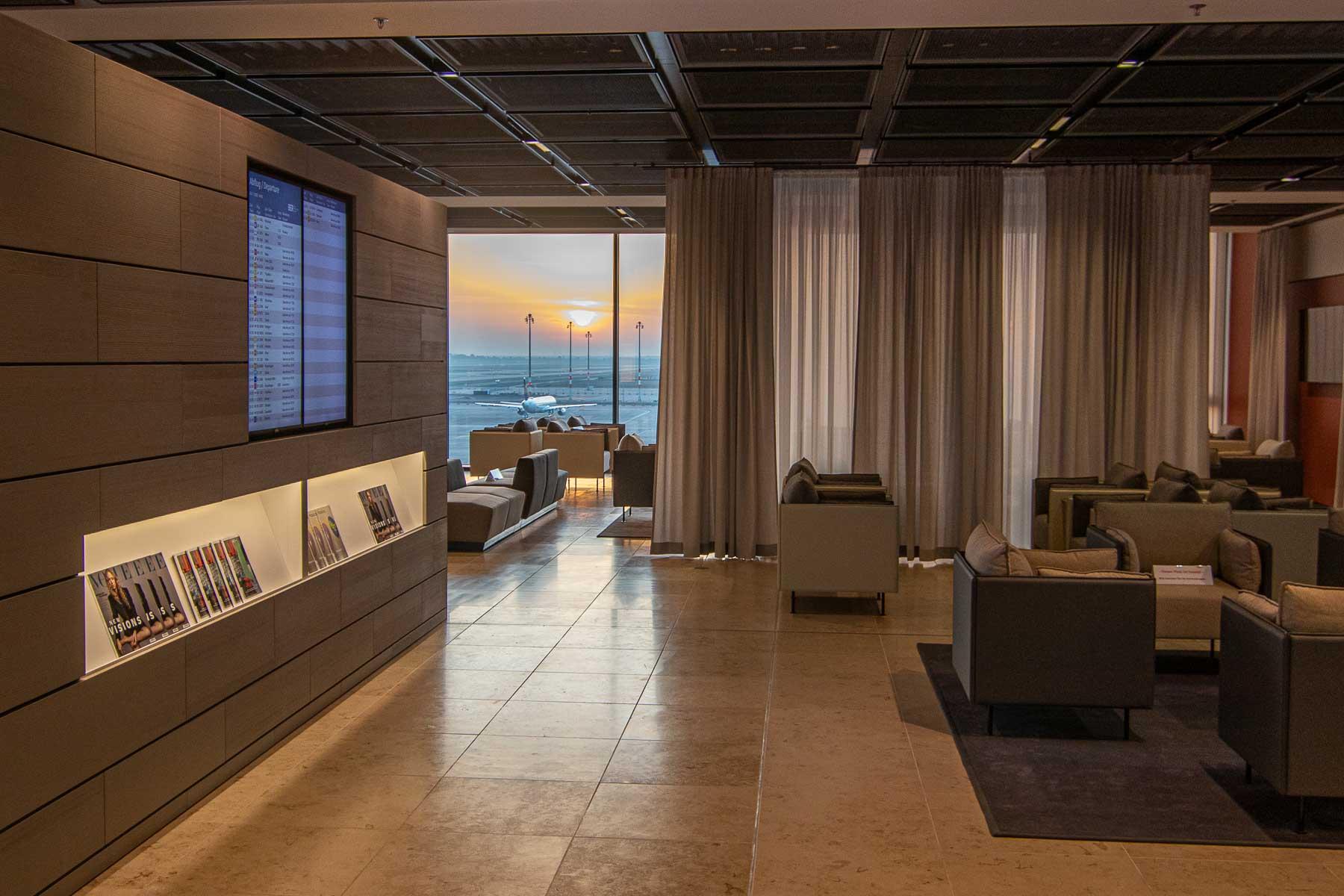 Flughafen BER Lounge Business