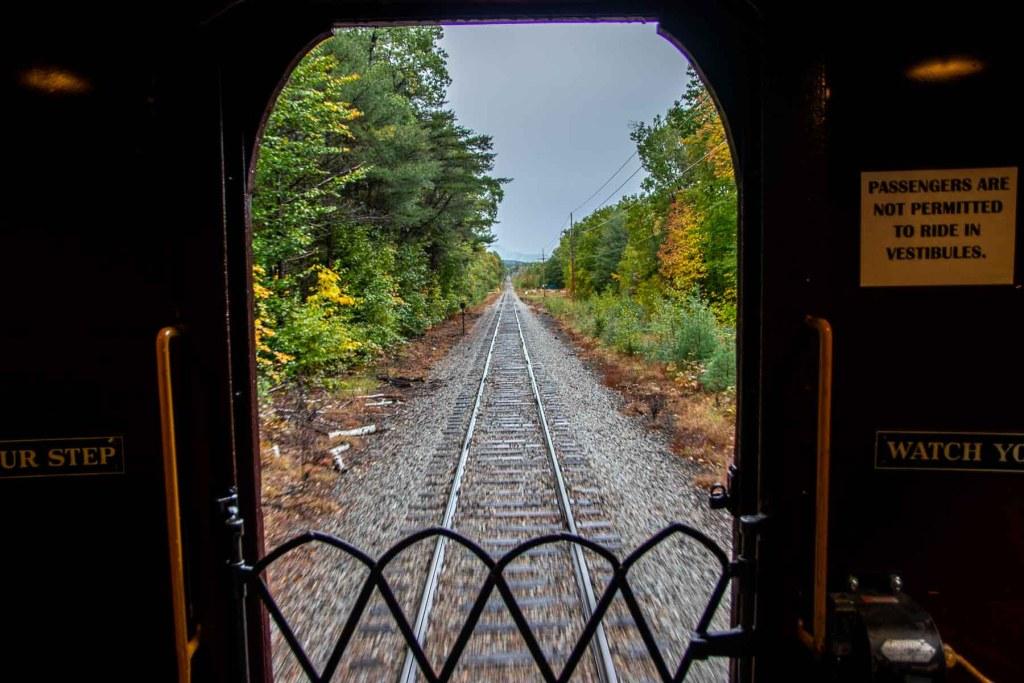 Indian Summer Roadtrip Conway Scenic Railroad