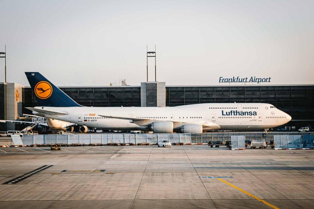 Lufthansa Boeing 747 Routen-4