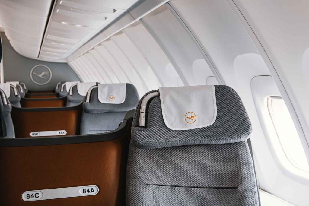 Lufthansa Boeing 747 Upper Deck Business Class Kabine Strecken Routen