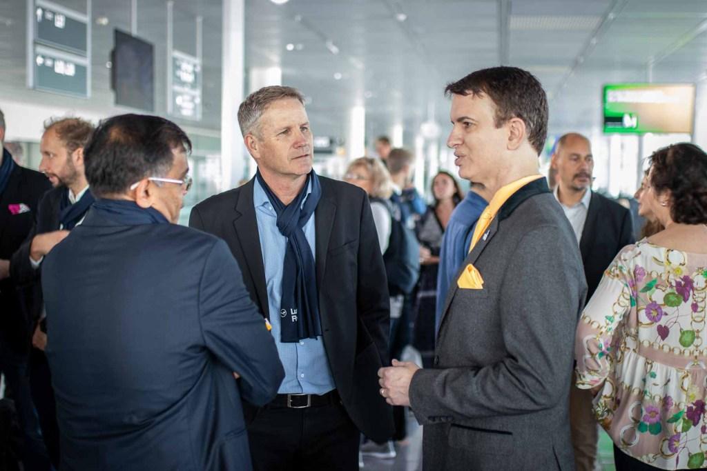 Lufthansa FlyingLab APEX Boston APEX CEO Joe Leader Andrew Mohr Panasonic