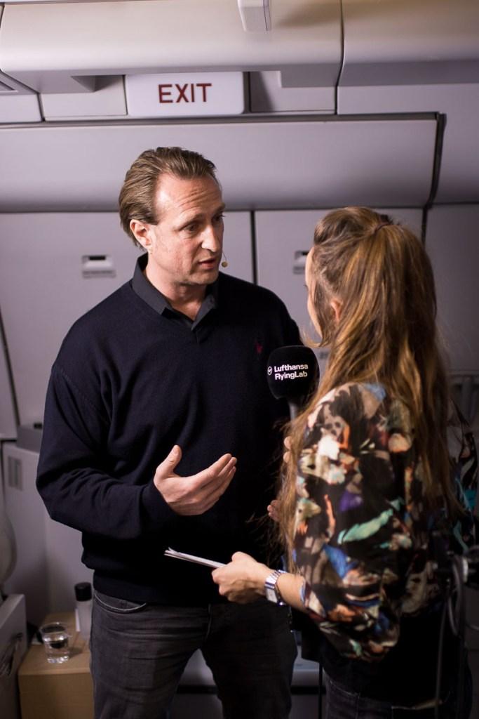 Lufthansa FlyingLab SXSW Lars Bendix Düysen Sony Entertainmnet