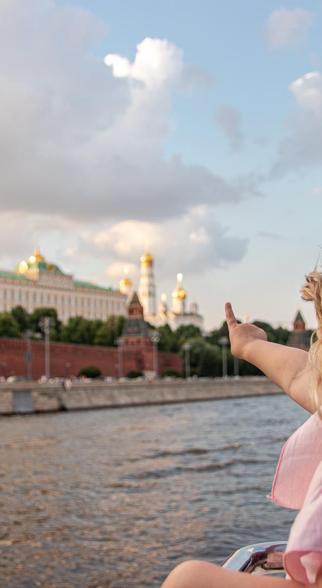 Moskau die schönestem Sehenswürdigkeiten mit Kind Roter Platz Kreml Gum-18