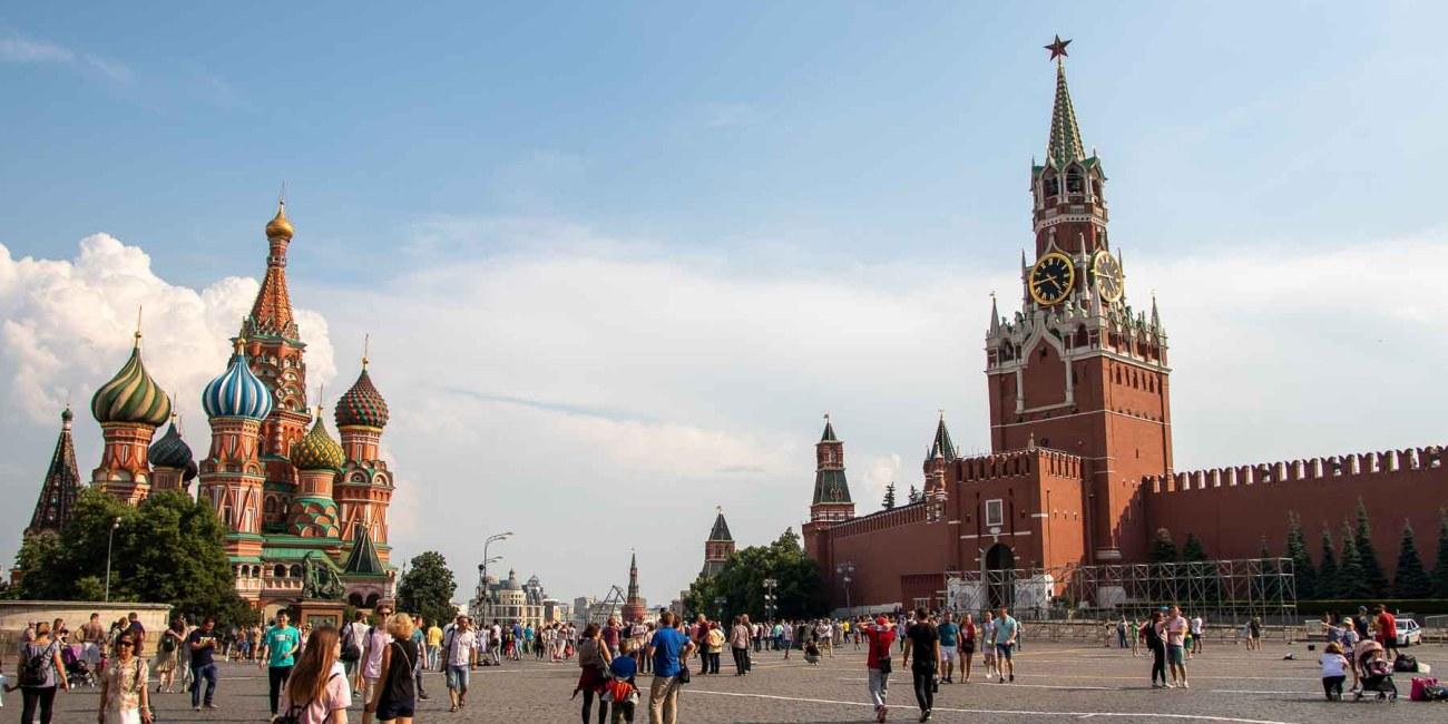 Moskau die schönestem Sehenswürdigkeiten mit Kind Roter Platz Kreml Gum-5