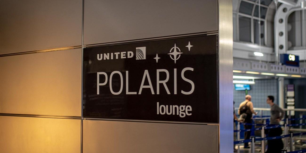 United Polaris Lounge Chicgao
