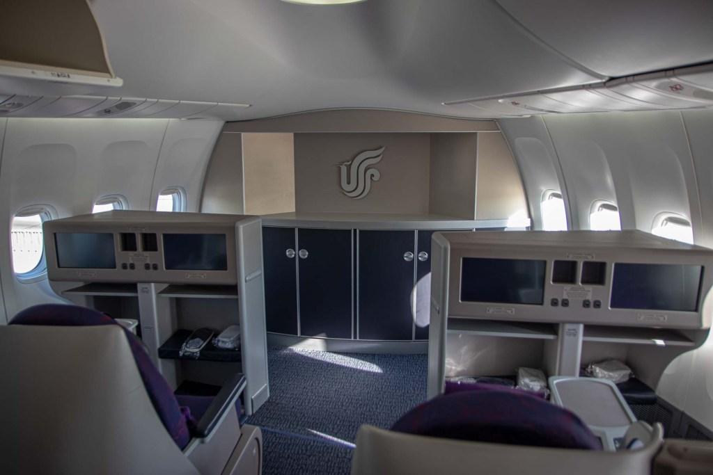 Air China Boeing 747-8 Business Class Sitz