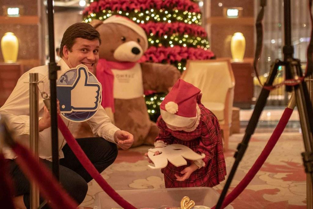 Conrad Singapur Weihnachten im Hotel-4
