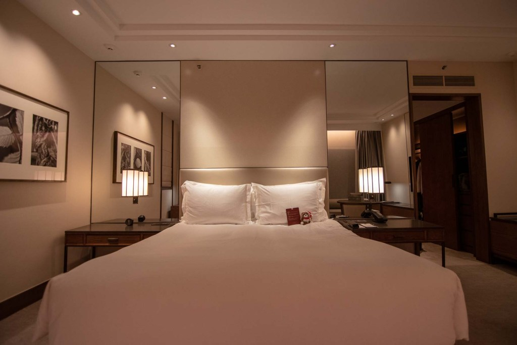 Conrad Singapur Zimmer Grand Deluxe King