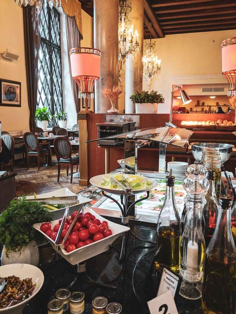 Hilton Moskau Leningradskaya Frühstück-2