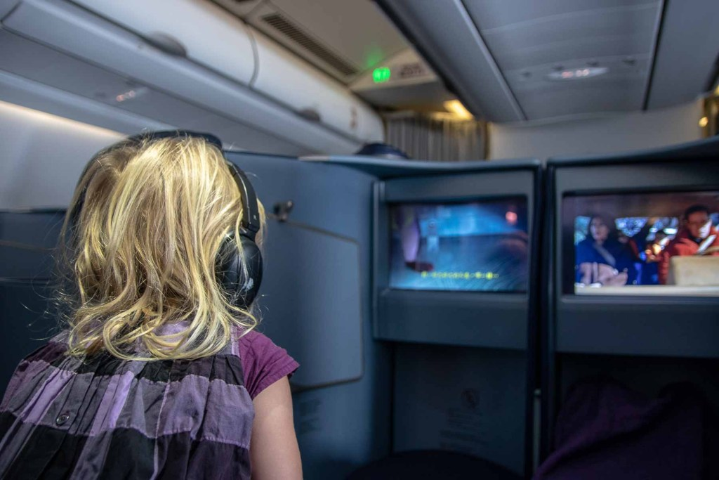 Malaysia Airbus A330-200 Business Class Flime TV Shows und Lieder-6