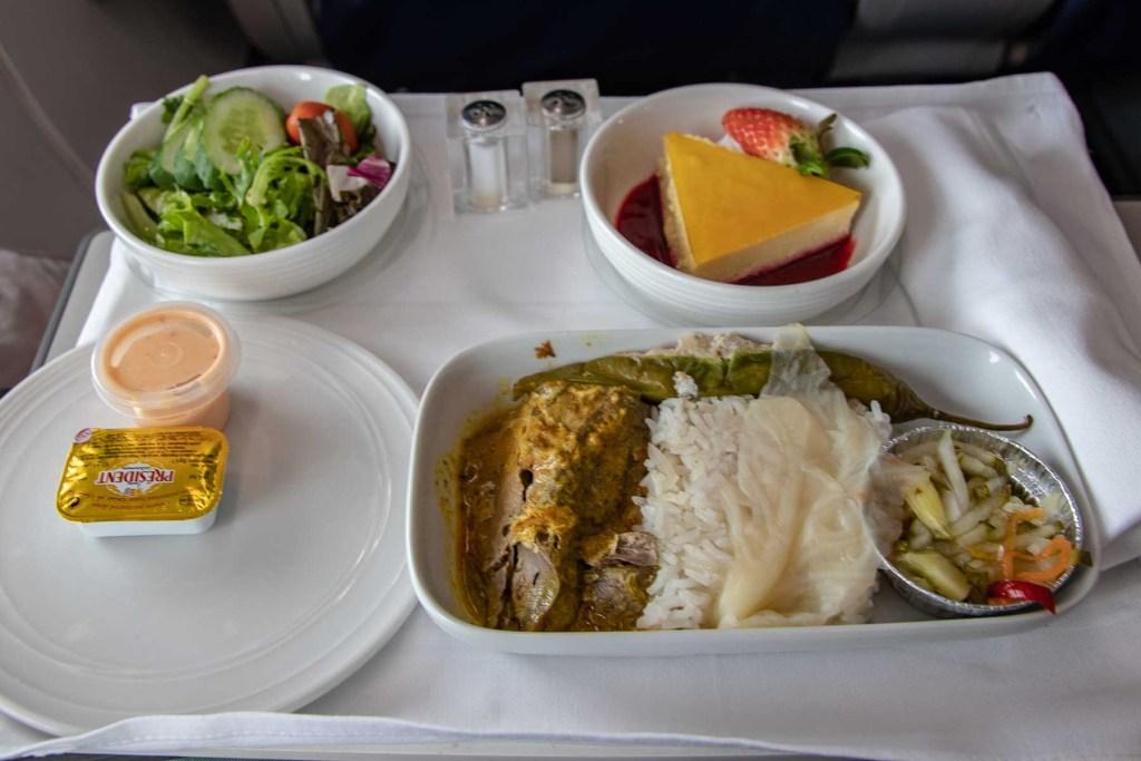 Malaysia Airlines Boeing 737 Business Class Service und Annehmlichkeiten-3