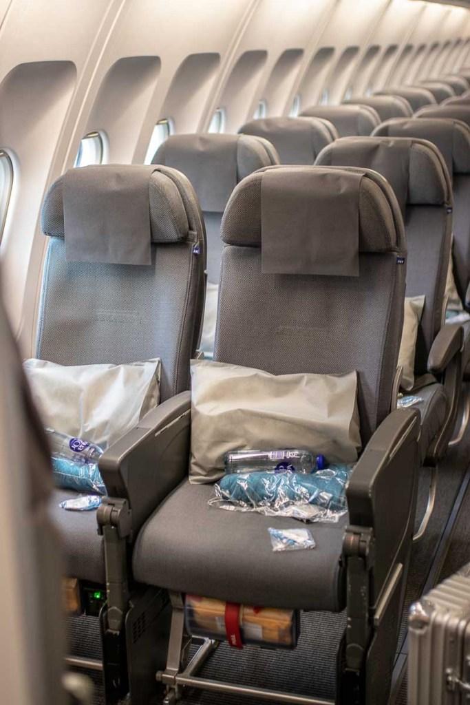 SAS A340 Economy Class
