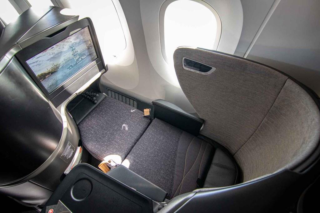 Turkish Airlines Business Class Schlafen