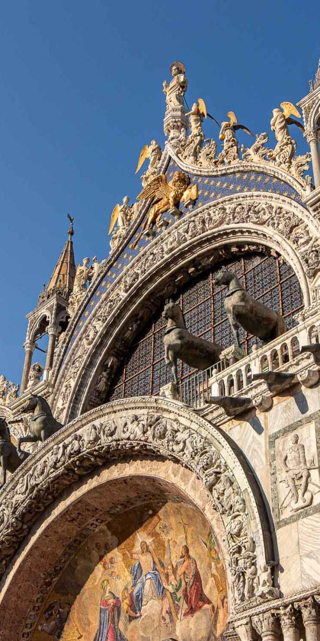 Venedig Sehenswürdigkeiten Markusdom Markusplatz Basilica San Marco
