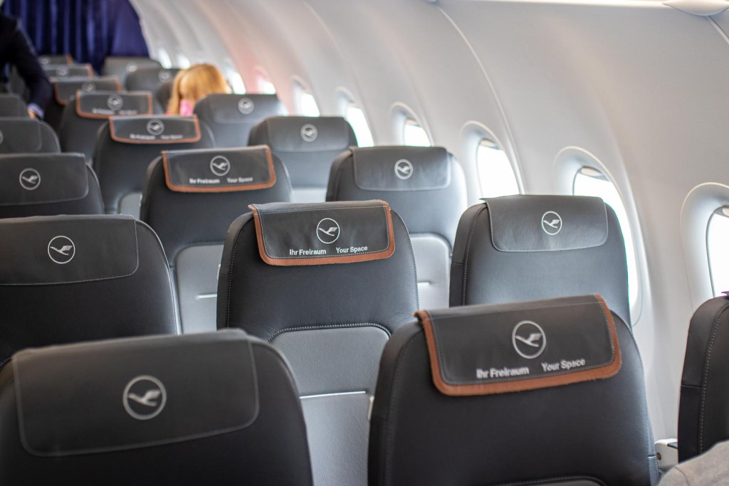 Lufthansa Business Class A320neo Teneriffa