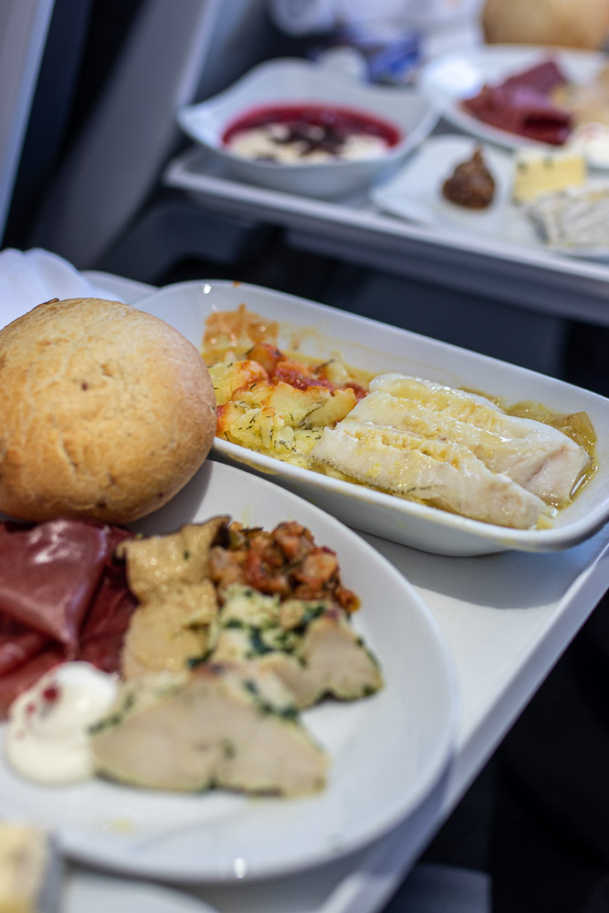 Lufthansa Business Class Teneriffa Service