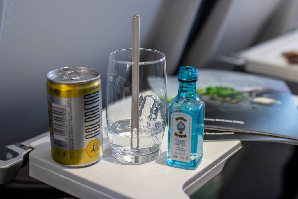 Lufthansa Business Class Teneriffa Service-2