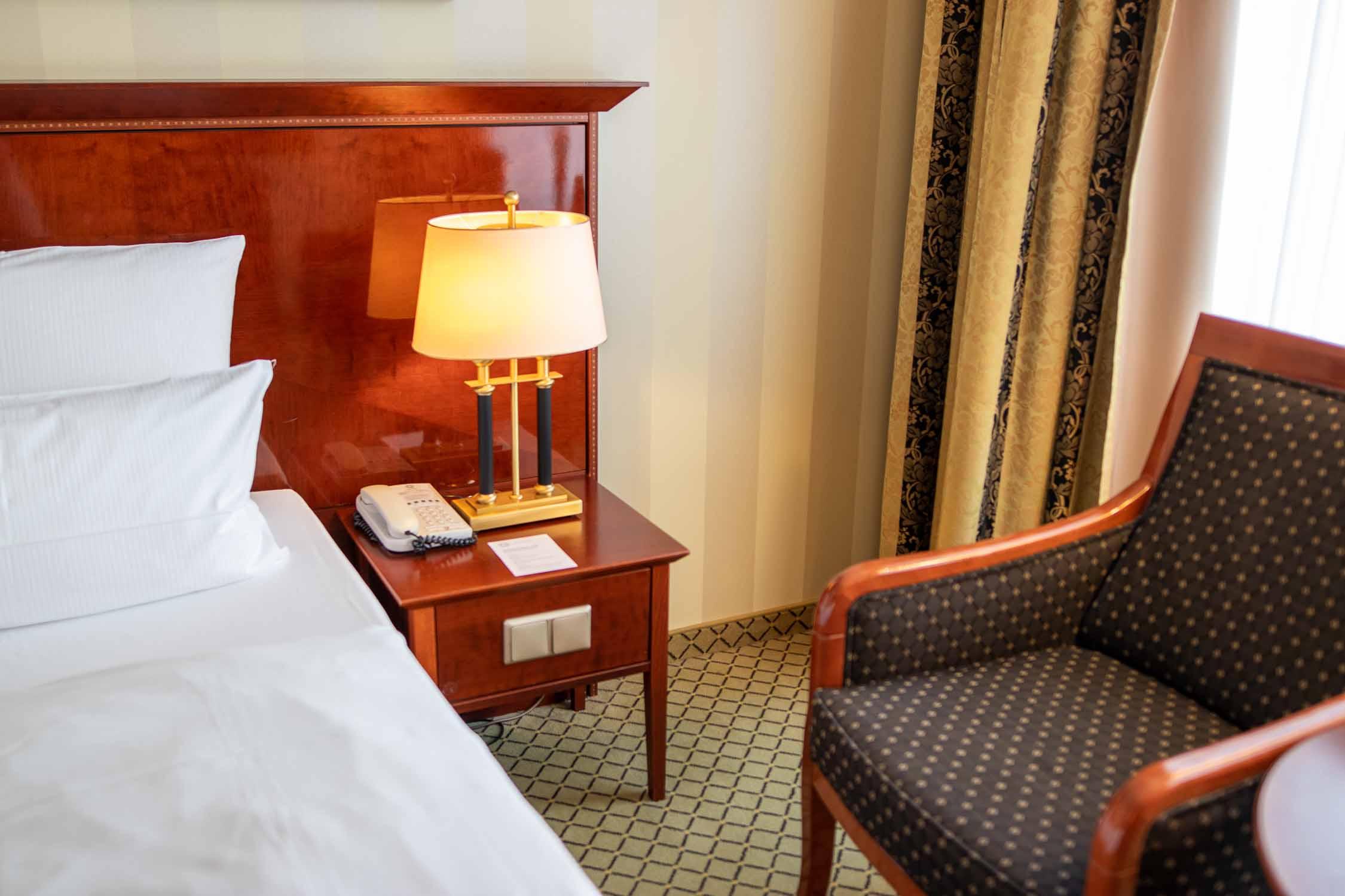 Zimmer JW Marriott Hotel Berlin Erfahrungsbericht-2