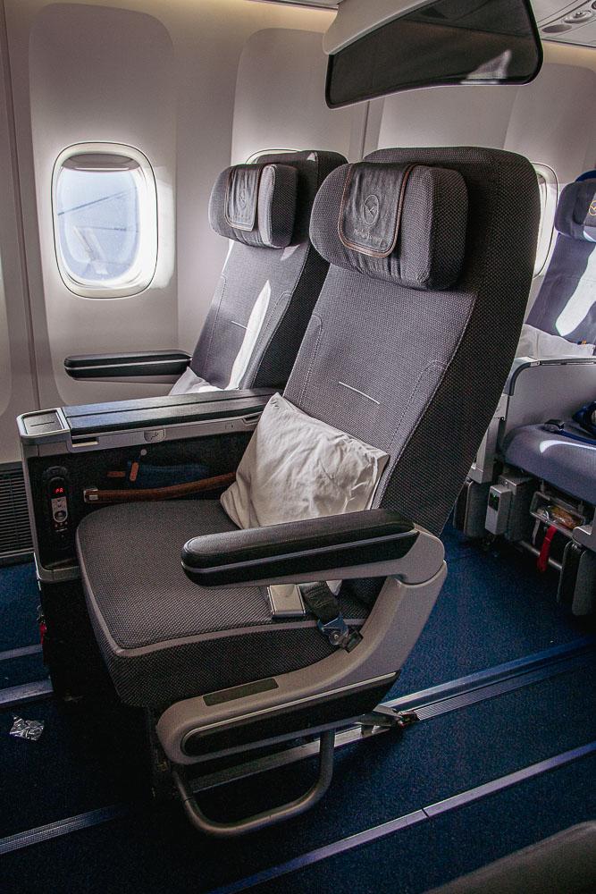 Boeing 747 nach Mallorca Premium Economy Class