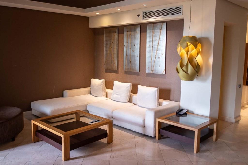 Ritz Carlton Abama Citadel Suite Wohnbereich-5