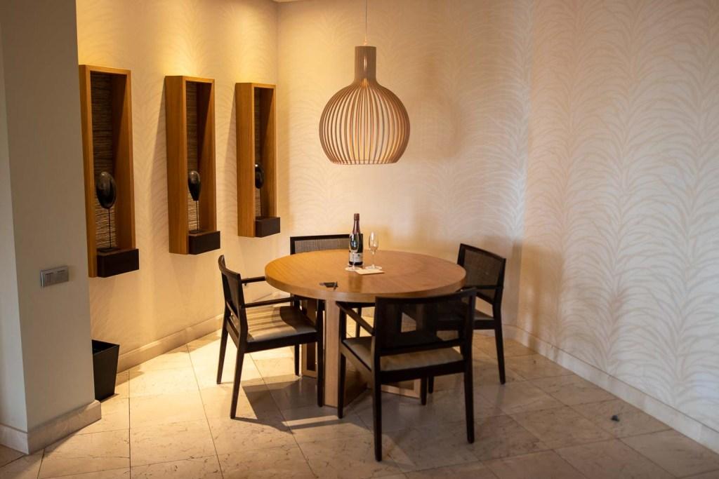 Ritz Carlton Abama Citadel Suite Wohnbereich