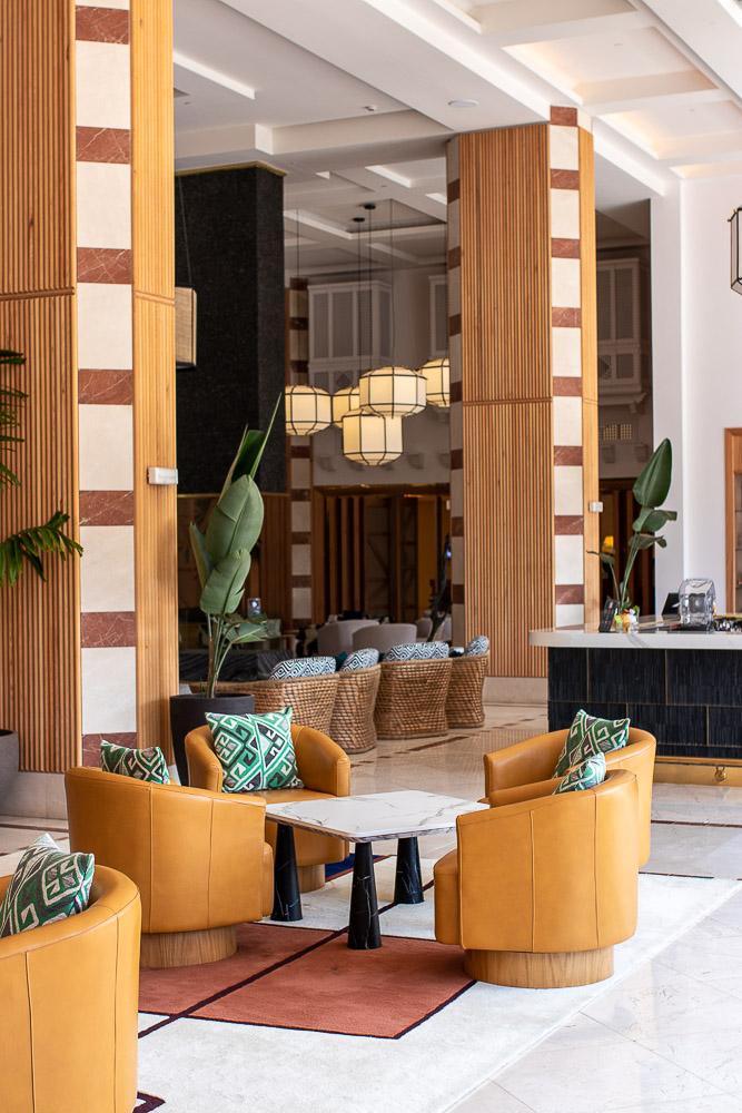 Ritz Carlton Abama Luxus Checkin Lobby