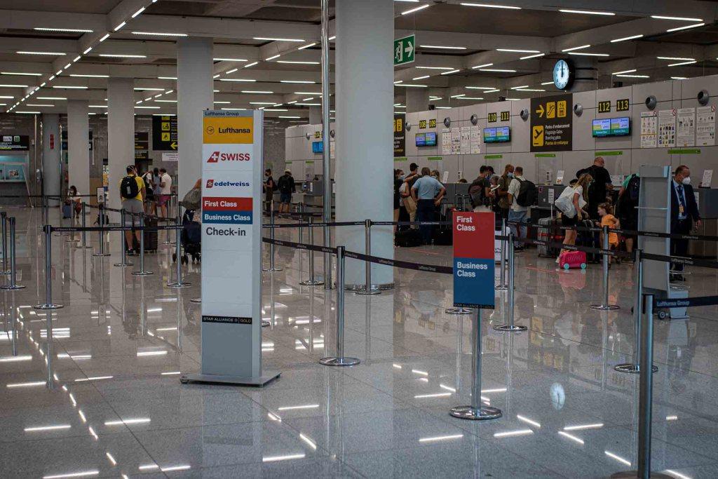 Lufthansa Check-in Palma