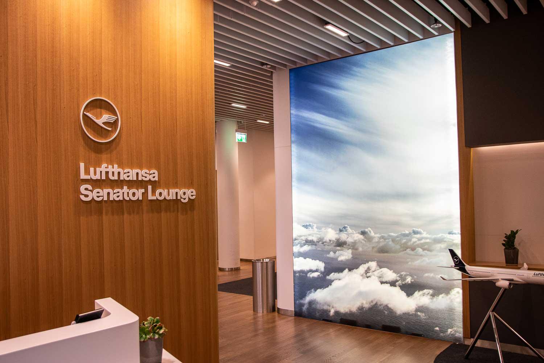 Lufthansa Lounge Zugang mit Amex Platinum