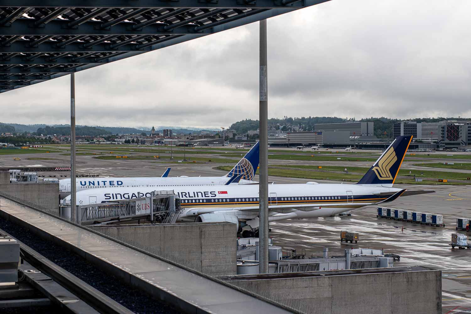 Singapore Airlines Airbus A350 Zürich
