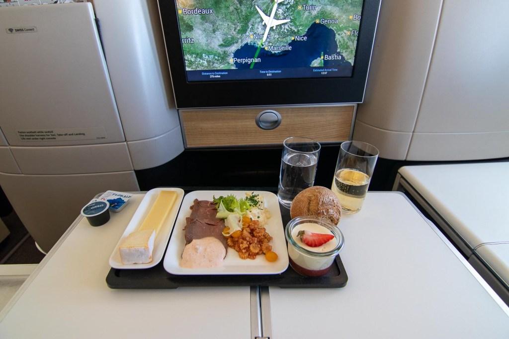 Swiss Boeing 777 Business Class nach Palma-2