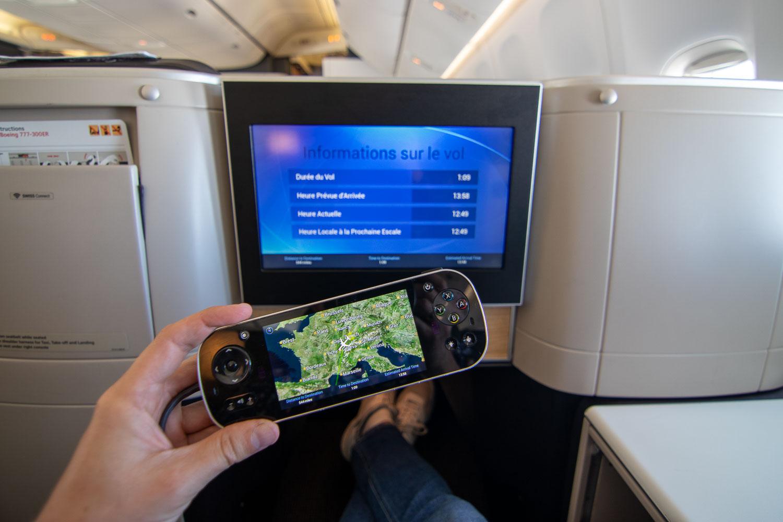 Swiss Boeing 777 Business Class nach Palma-4