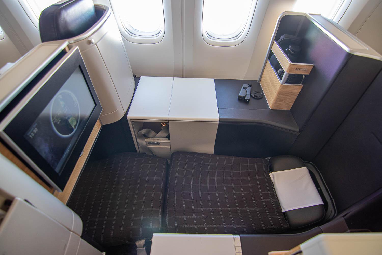 Swiss Boeing 777 Business Class nach Palma-8