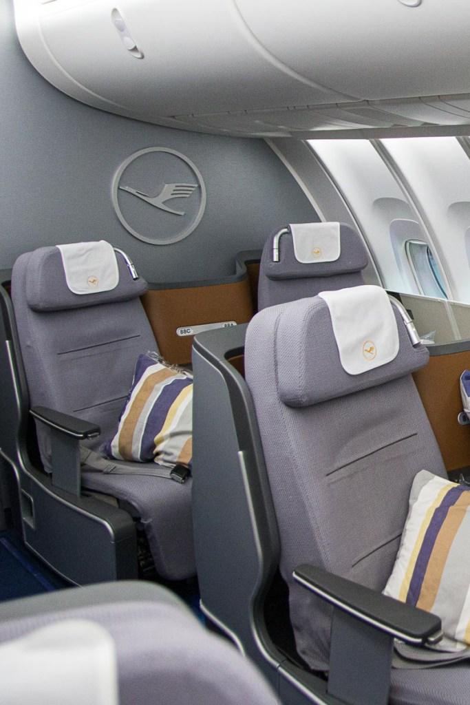 Lufthansa Boeing 747-8 Upper Deck Business Class