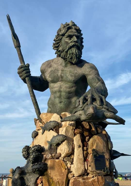 King Neptune, statue