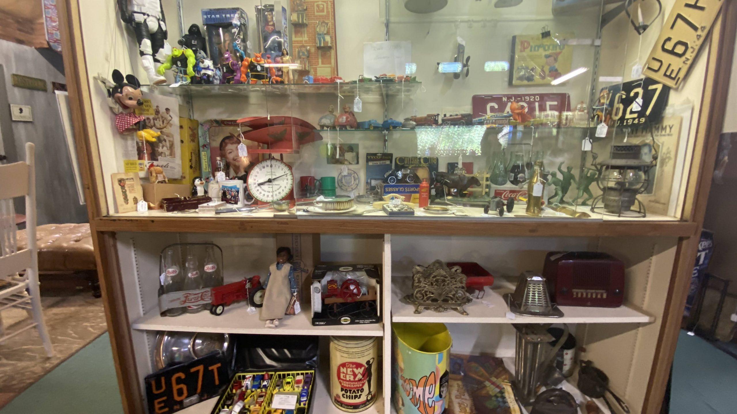 vintage and antique shop