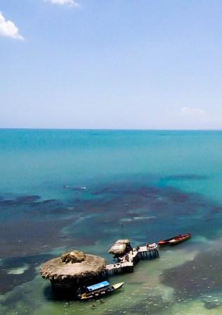 Pelican Bar GoPro Aerial Shot