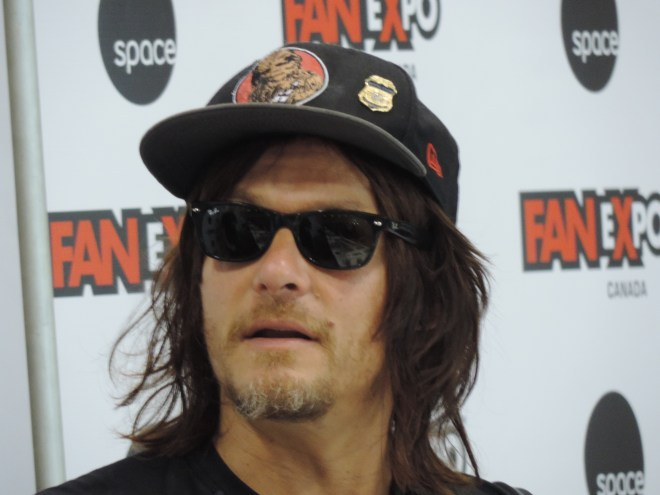 Norman Reedus at 2015Fan Expo Canada