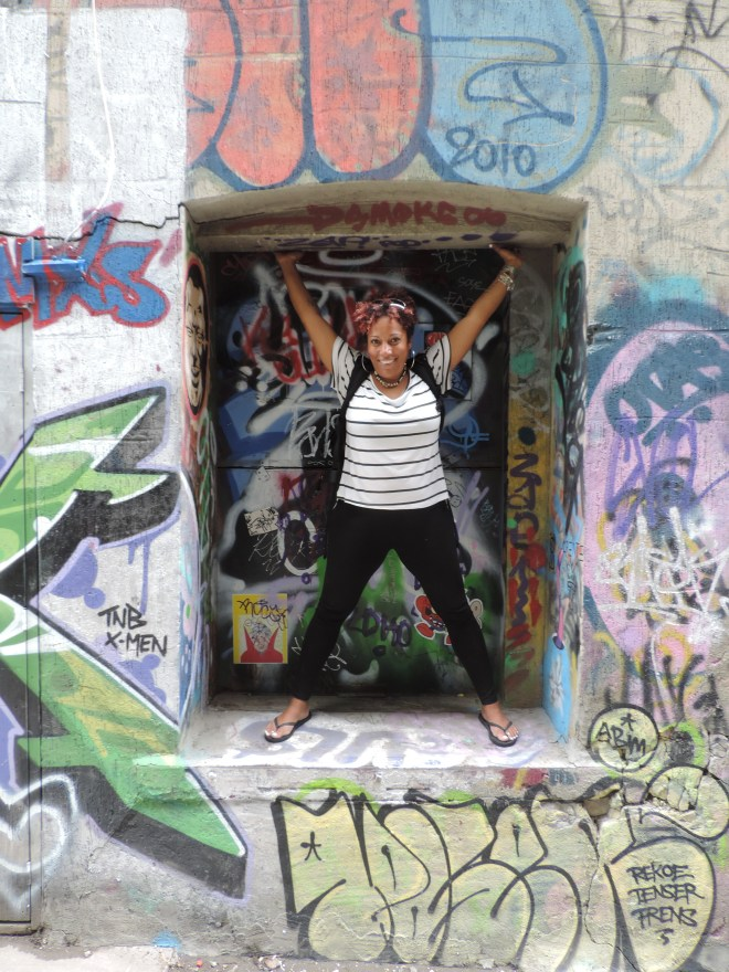 Fun at Graffiti Alley
