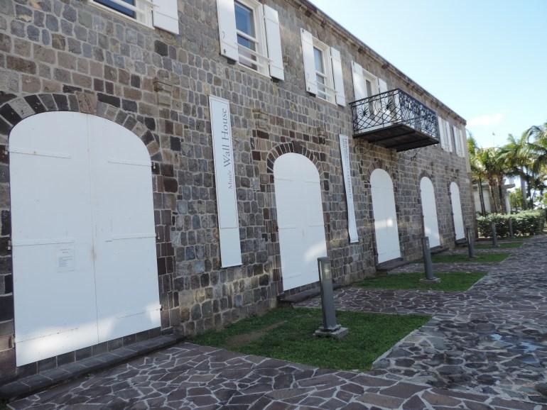 Gustavia building