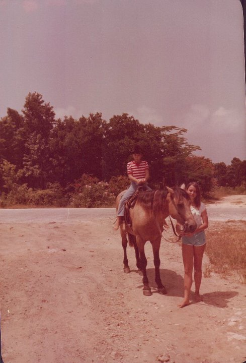 Horseback riding on St. Maarten