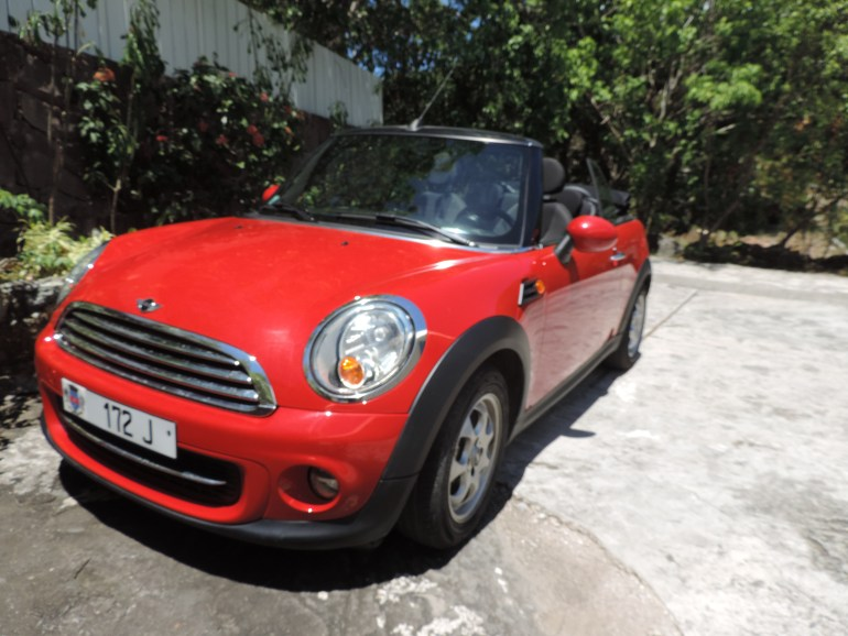 Rent a mini cooper in St. Barth